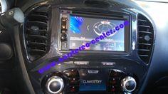 Nissan Juke con navigatore Kenwood DNX3160BT
