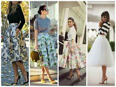 WEBNODE :: il ritorno della Gonna midi :: Fashion designer