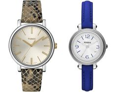 Timex and Fossil