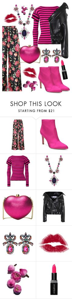 """pink"" by i-rusche on Polyvore featuring Dolce&Gabbana, Sam Edelman, Philosophy di Lorenzo Serafini, Kate Spade, Michael Kors, Balenciaga, Gucci and Smashbox"