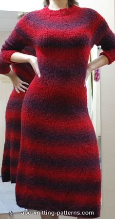 Free Seamless Top Down Knitting Patterns : Free Knitting Patterns (Clothing) on Pinterest Vintage Knitting, Knitting P...