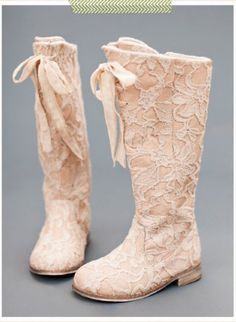 Girls Couture Vintage Lace Tall Boot Now in Stock