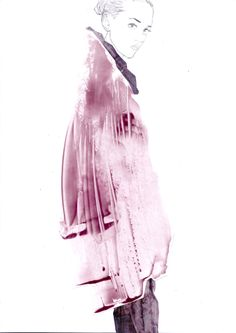 Fashion Illustration Speed Painting with Ink - Drawing On Demand Illustration Techniques, Fashion Illustration Sketches, Illustration Mode, Fashion Sketchbook, Fashion Sketches, Fashion Drawings, Arte Fashion, Fashion Design, Paper Fashion