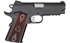 Springfield Lightweight Champion Operator 45ACP Pistol 4in Blued 7 Round Cocobolo Grip
