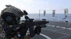Republic of Korea Navy SEALs Tactical Shooting / 대한민국 해군 특수부대 전술 사격