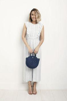 LC Lauren Conrad Round Straw Handbag   Kohl's