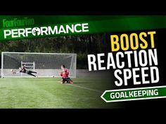 Goalkeeper Reaction Speed Drills