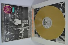 IAN DURY & THE BLOCKHEADS NEW BOOTS AND PANTIES GOLD VINYL RECORD LP SEEZ G4