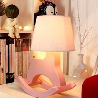 Creative Ikea Children S Cartoon Horse Lamp Bedroom Bedside Lamp Dimmer Fashion Pastoral Shipping Bedroom Lamps Lamp Creative Lamps