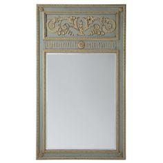 European Trumeau Mirror
