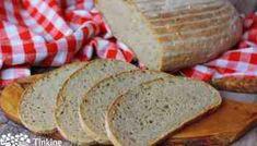 Zemiakový chlebík - balónik (kváskový) - Tinkine recepty Bread, Food, Basket, Brot, Essen, Baking, Meals, Breads, Buns