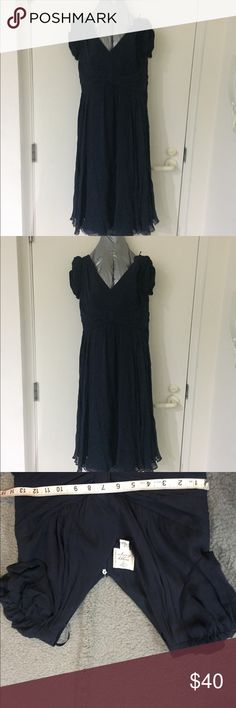 "NWOT Suzi Chin empire waist chiffon - Navy blue Suzi Chin ~ Navy blueSilk Chiffon Double V Empire Formal Cocktail Dress 4 NEW ~ Flounce Skirt ~ Classic ~ Lovely ~ Elegant ~ Flattering ~ • Style Type: Empire Cocktail Dress • Brand: Suzi Chin for Maggy Boutique • Color: Navy blue.Size: 4 US • Suggested Retail $ 118.00 • Closure: Hidden Back Zipper • Lined: Full, Polyester • Measurements: 41"" Total Length, 35"" Bust, Waist 28"" • Measurements listed are within 2 inches. • Cap Sleeve • Condition…"