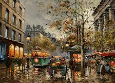 Amazing Paintings by Antoine Blanchard-AmO Images-AmO Images