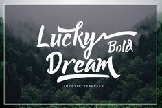 "Lucky Dream Bold ""Font Duo"" by Putra Khan on @creativemarket"