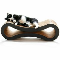 Petfusion Cat Scratcher Lounge Walnut Brown Pet Supplies Products