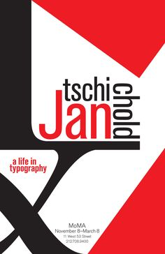 Jan Tschichold Exhibition
