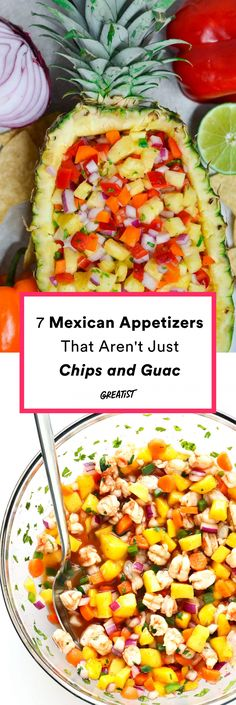 7 Mexican Appetizers That Aren't Just Chips and Guac – Gesundes Abendessen, Vegetarische Rezepte, Vegane Desserts, Mexican Finger Foods, Mexican Fiesta Food, Mexican Dinner Party, Mexican Snacks, Dinner Party Menu, Mexican Food Recipes, Mexican Chips, Mexican Appetizers Easy, Mexican Dinners