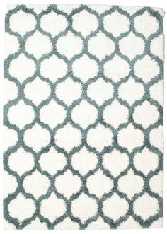Berber Shaggy Illusia - Blå tæppe CVD14723