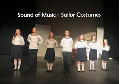Straddling the Gap: SOM Costumes - Sailor Suits!