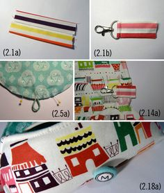 Thread Riding Hood - Sunny Glasses Case Option 2 Additonal Steps