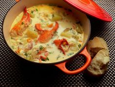 Nova Scotia Lobster Chowder Recipe on Yummly Lobster Chowder, Chowder Soup, Chowder Recipes, Corn Chowder, Seafood Recipes, Soup Recipes, Cooking Recipes, Shrimp Chowder, Lobster Bisque