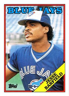 Jesse Barfield - The guy who threw me a ball in 1988!
