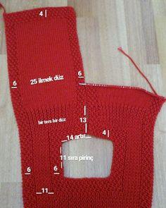 Minik Kuzulara Pirinç Örgü Modeli Yapılışı ve İlmek Sayıları | Kolay Hobiler Knitting For Kids, Baby Knitting Patterns, Knitting Stitches, Crochet Patterns, Crochet Baby, Knit Crochet, Tricot Baby, Baby Cardigan, Baby Alpaca