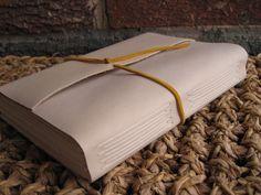 Leather Italian Long Stitch Bound Journal by FoldAndStitch on Etsy, $30.00