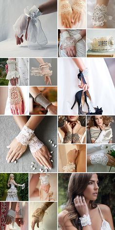 Bridal Cuffs { Flashy yet Feminine }