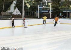 Mini skating Curlink Synthetic Ice Rink, Ice Skating, Skate, Basketball Court, Mini, Skating