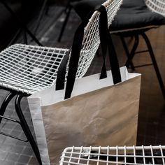 Tyvek bag. Bag made of tyvek.