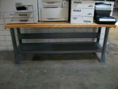 A Lista workbench used as a copy making table!
