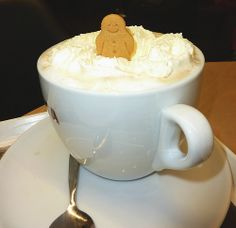 Costa Coffee Gingerbread Latte