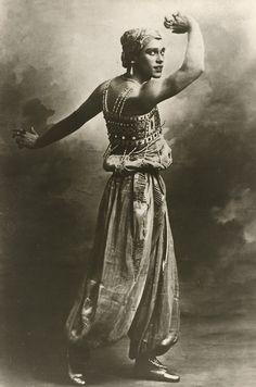 Vaslav Nijinsky  Male ballet dancer