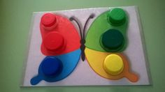 Toddler Learning Activities, Montessori Toddler, Montessori Activities, Preschool Worksheets, Infant Activities, Sensory Games, Baby Sensory, Bottle Cap Crafts, Classroom Crafts