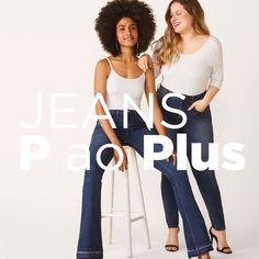 Calça jeans flare com elastano segunda pele disponível do tamanho 34 ao 46. Encontre no #aplicativo #Posthaus usando o código: 5800324 #JeansdoPPaoPlusSize #calçajeans #calçaflare #jeans #online Jeans Online, Ideias Fashion, Pajama Pants, Pajamas, Plus Size, Flare Jeans Outfit, Second Skin, Flare, App