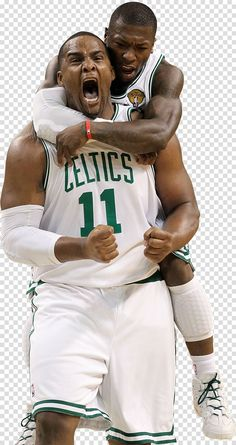 Glen Davis Nate Robinson Boston Celtics 2010 Nba Finals The Nba In 2020 2010 Nba Finals Nate Robinson Boston Celtics