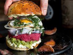 Auf die Faust – Labskaus Burger