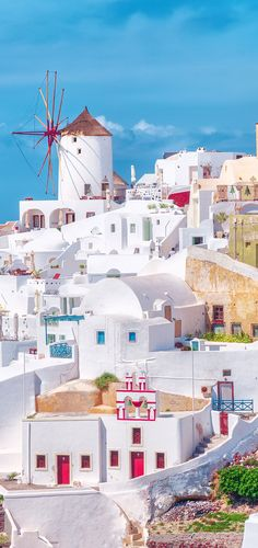 The Colors of Santorini - Greece Beautiful Places To Travel, Best Places To Travel, Vacation Places, Dream Vacations, Wonderful Places, Places To Visit, Santorini Island, Santorini Greece, Greece Wallpaper