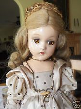 Vintage Madame Alexander FAIRY PRINCESS Composition Doll c. 1942