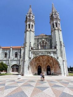 Jeronimos monastery in Belem Portugal is a UNESCO world heritage site . Check out our detailed city guide! Belem Portugal, Custard Tart, Heritage Site, Lisbon, All Over The World, City, Building, Check, Cream Pie