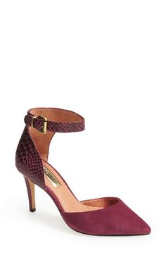 Halogen® 'Melinda' Ankle Strap Pump (Women) available at #Nordstrom