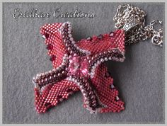 Eridhan Creations - Beading Tutorials: Windmill - or Twisted Square - another twisted pattern :)