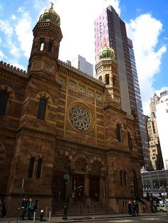 Central Synagogue 1872, NYC
