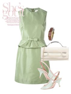 """""""dress"""" by masayuki4499 ❤ liked on Polyvore featuring RED Valentino and Cartier"""
