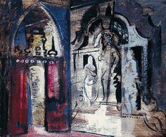 John Piper, 'Yarnton Monument' 1947–8