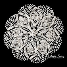 Clematis Doily plus 10 free doily patterns