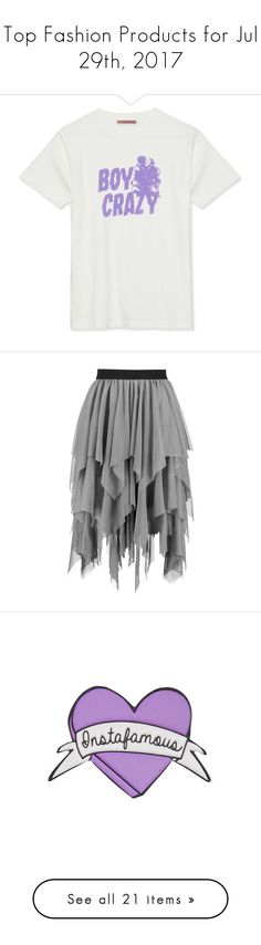 """""""Top Fashion Products for Jul 29th, 2017"""" by polyvore ❤ liked on Polyvore featuring skirts, mini skirt, circle skirts, elastic waist skirt, maxi skirt, pleated mini skirt, shoes, sandals, heels and sapatos"""