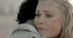Clarke & Bellamy - Bellarke - Season 2 Finale - Fangirl - The 100