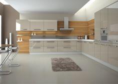 Mutfak Dolapları 2015 Modern Kitchen Cabinets, Kitchen Dining, Kitchen Decor, Kitchen Ideas, Kitchen Room Design, Grill Design, Office Wall Decor, Beautiful Kitchens, Decoration